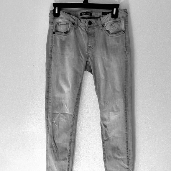 Vigoss Denim - VIGOSS Grey Skinny Jeans